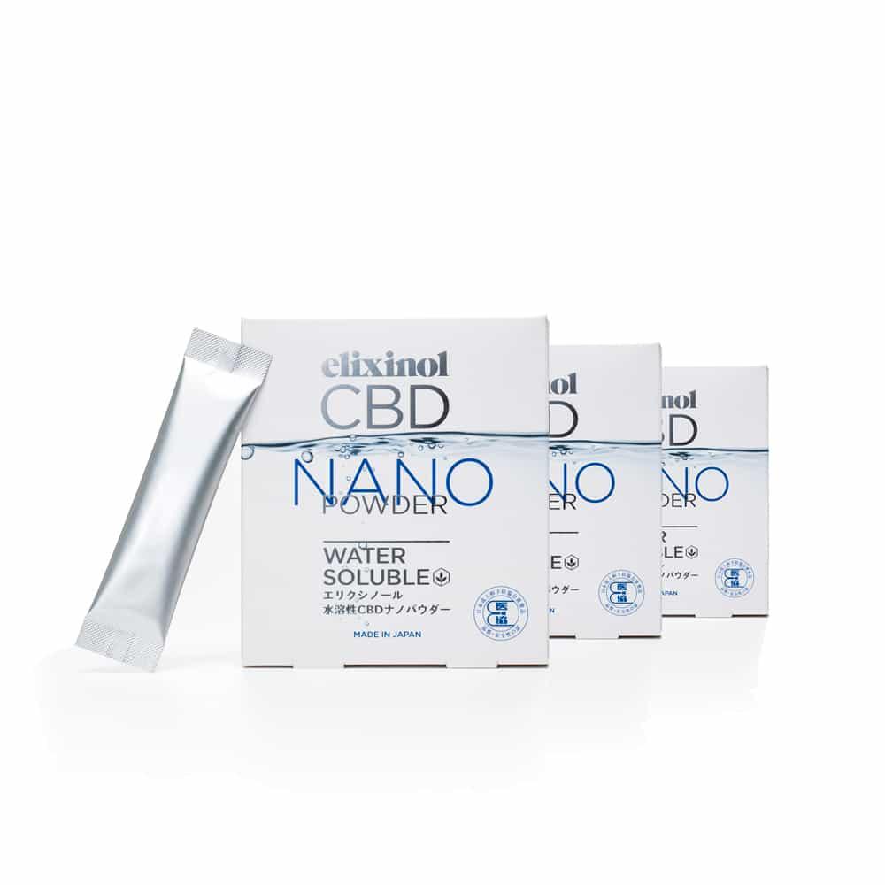 エリクシノール CBD ナノパウダー マンスリーセット